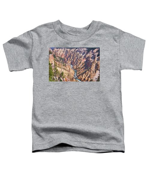 Yellowstone River Toddler T-Shirt