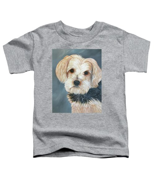 Yorkie Portrait Toddler T-Shirt