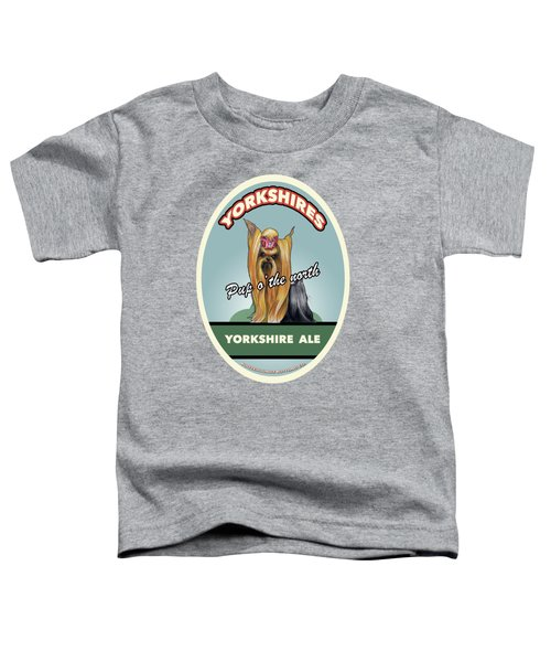 Yorkshire Ale Toddler T-Shirt