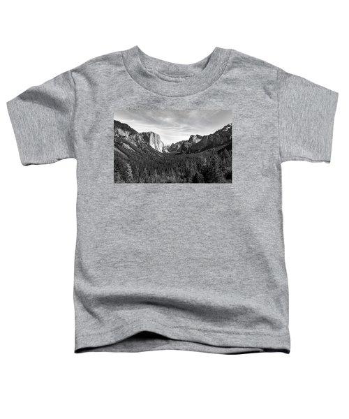 Yosemite B/w Toddler T-Shirt