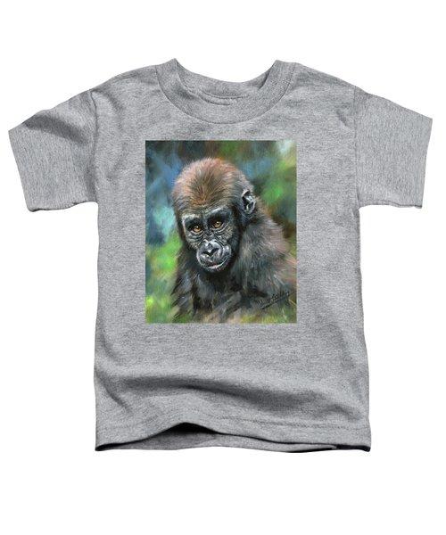 Young Gorilla Toddler T-Shirt