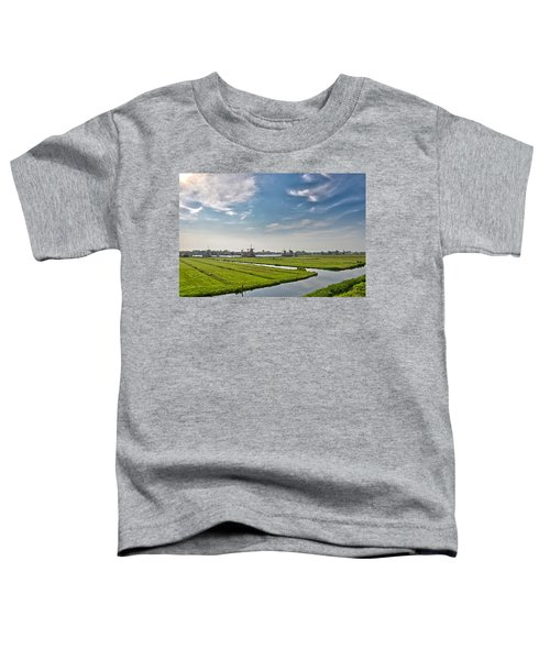 Zaandam Polders Toddler T-Shirt