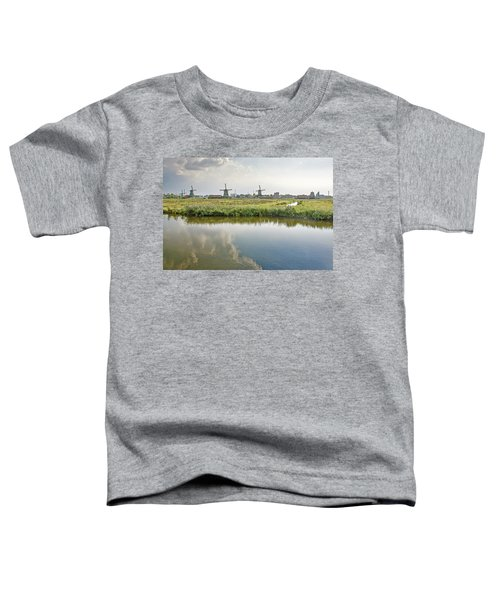 Zaandam Skyline Toddler T-Shirt