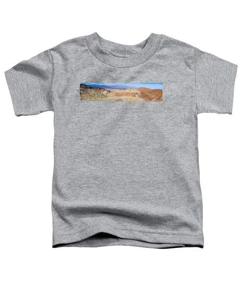 Zabriski Point Panoramic Toddler T-Shirt