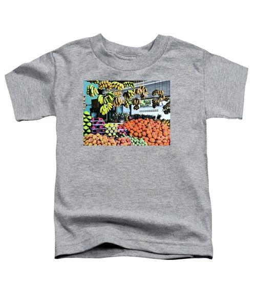 Zihuatanejo Market Toddler T-Shirt