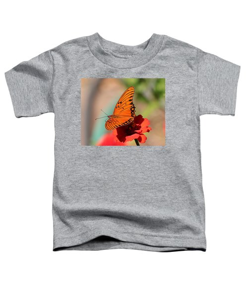 Zinnia With Butterfly 2669 Toddler T-Shirt