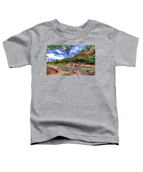 Zion At Daybreak Toddler T-Shirt