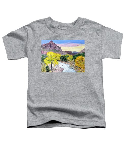 Zion Creek Toddler T-Shirt