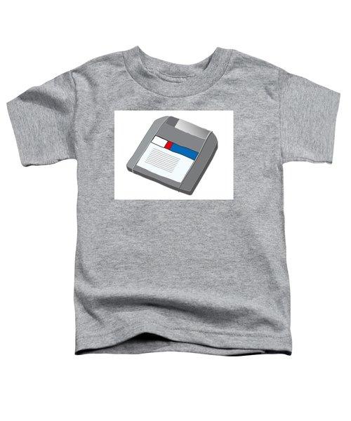 Zip Disk Toddler T-Shirt