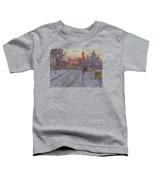 A Cold Winter Sunset Toddler T-Shirt