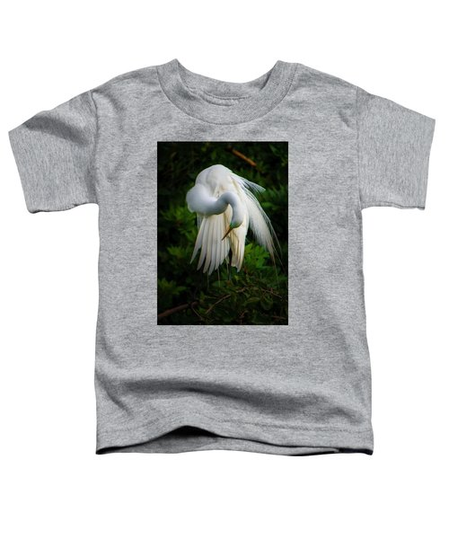 Toddler T-Shirt featuring the photograph Breeding Plumage And Color by Donald Brown