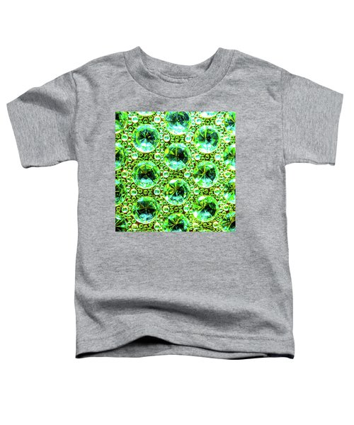 Cut Glass Beads 2 Toddler T-Shirt