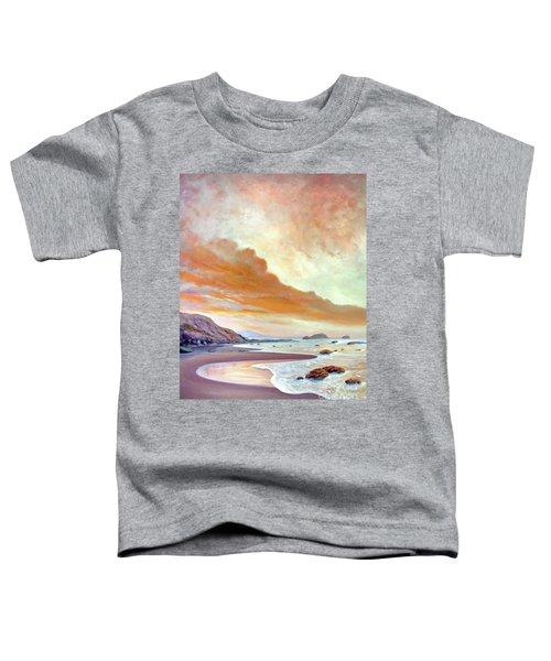 San Simeon Beach Toddler T-Shirt