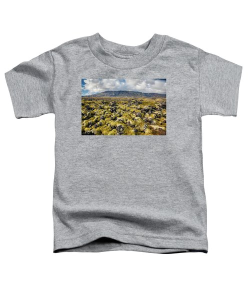 Lava Field Of Iceland Toddler T-Shirt
