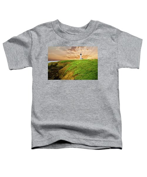 Lighthouse On  Yaquina Head  Toddler T-Shirt