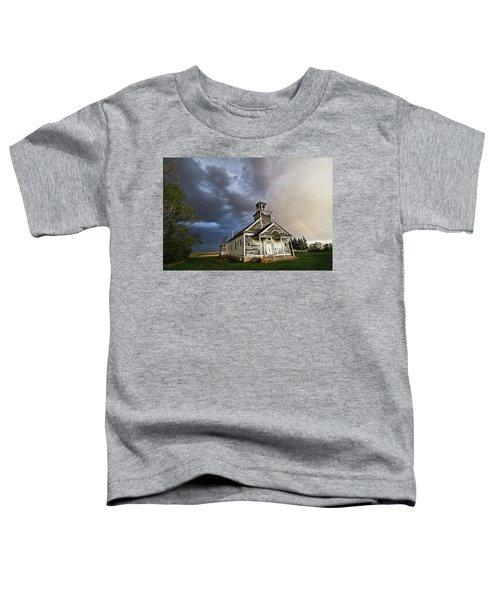 Stormy Sk Church Toddler T-Shirt