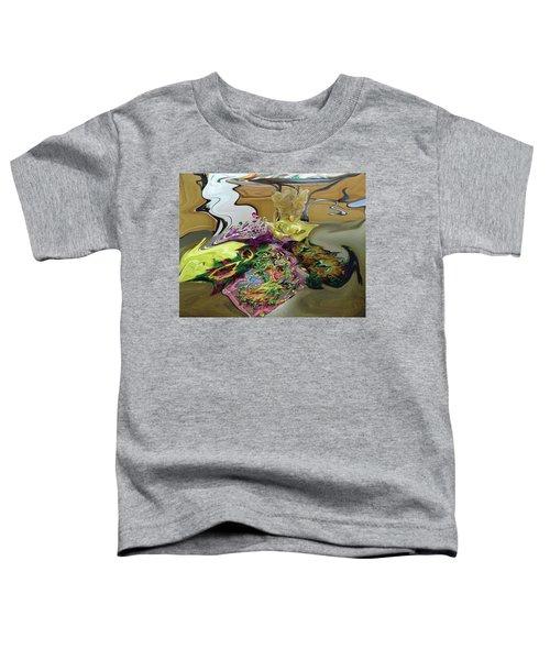 121618 Mardi Gra Morning Toddler T-Shirt