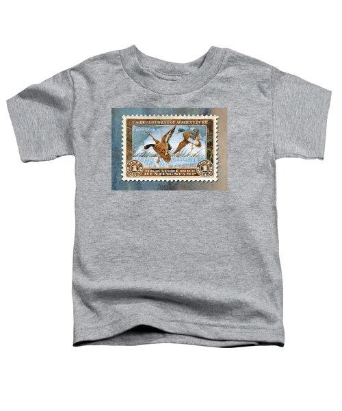 1934 Hunting Stamp Collage Toddler T-Shirt