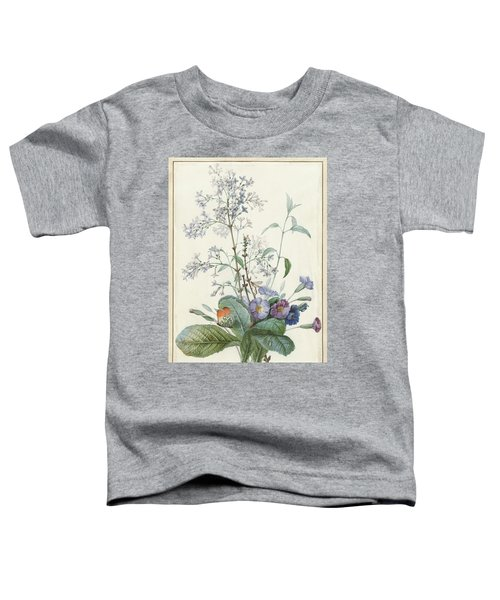 A Bouquet Of Flowers With Insects  Toddler T-Shirt