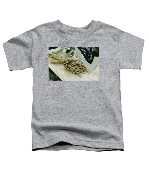 Floral Decorations In The Spaces Of A Wedding Restaurant. Toddler T-Shirt