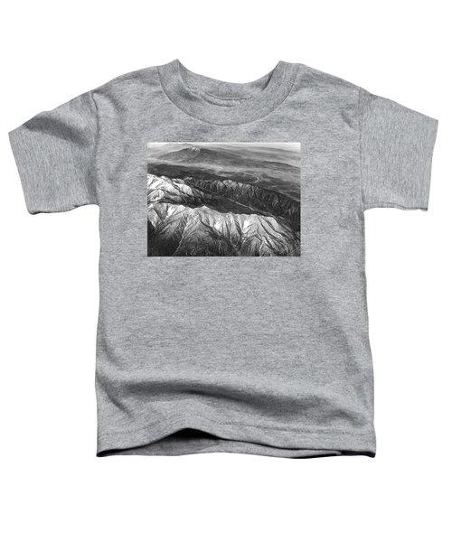 35,000 Feet Over Utah Toddler T-Shirt