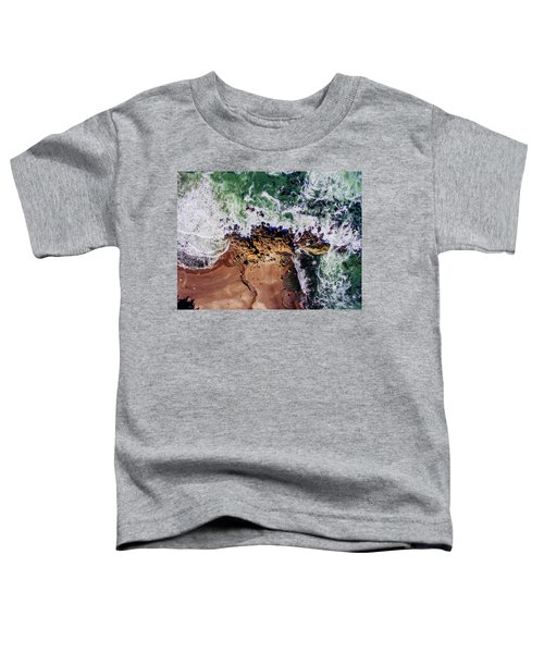Aerial View Of The Beach, Newport Toddler T-Shirt