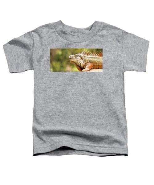 Green Iguana Toddler T-Shirt