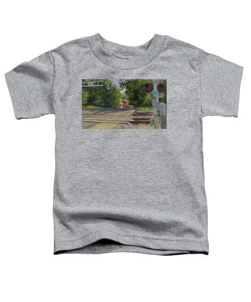 7th Street Train Crossing, Fifeville Houses Toddler T-Shirt