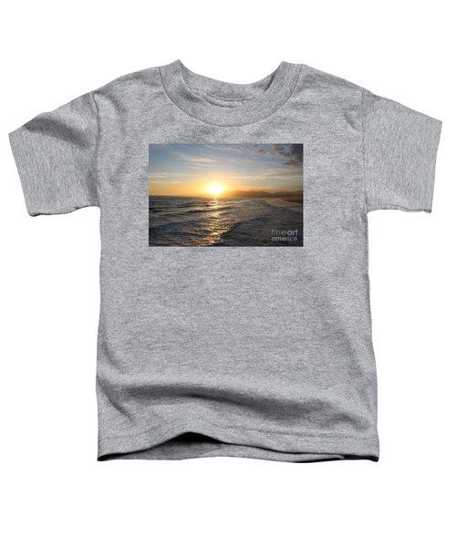 Pacific Sunset , Santa Monica, California Toddler T-Shirt