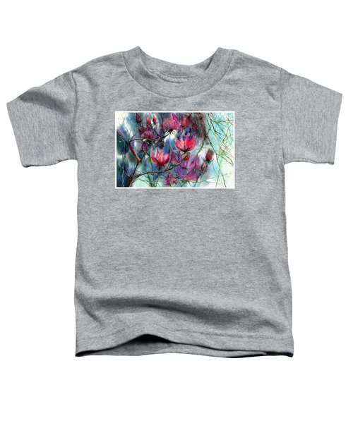 A Blooming Magnolia Toddler T-Shirt