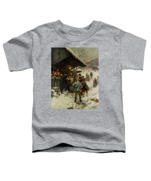 A Christmas Carol In Lucerne, 1887 Toddler T-Shirt