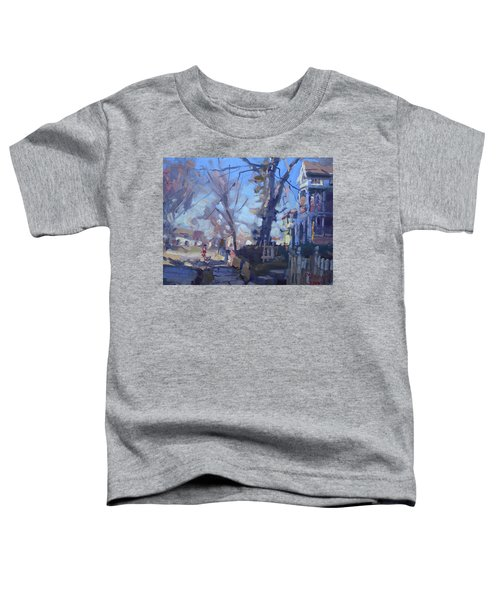 A Cold Sunny Afternoon Toddler T-Shirt