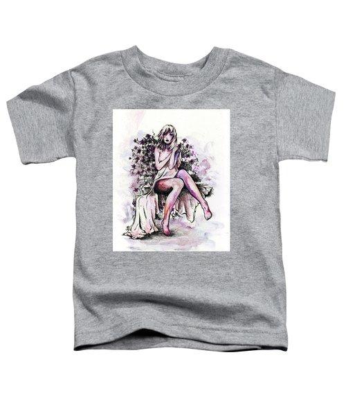 A Pretty Flower Toddler T-Shirt