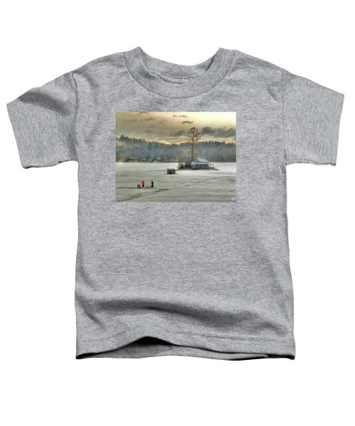 A Warm Glow On A Cool Scene Toddler T-Shirt