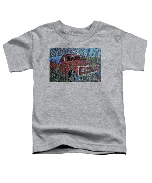 Abandoned Oil Truck  Toddler T-Shirt