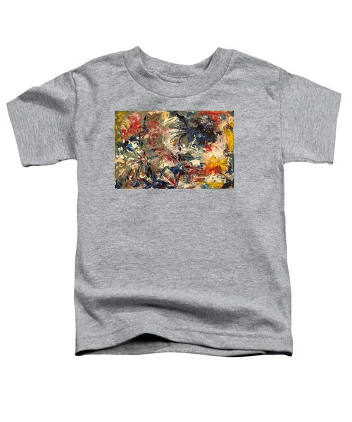 Abstract Puzzle Toddler T-Shirt