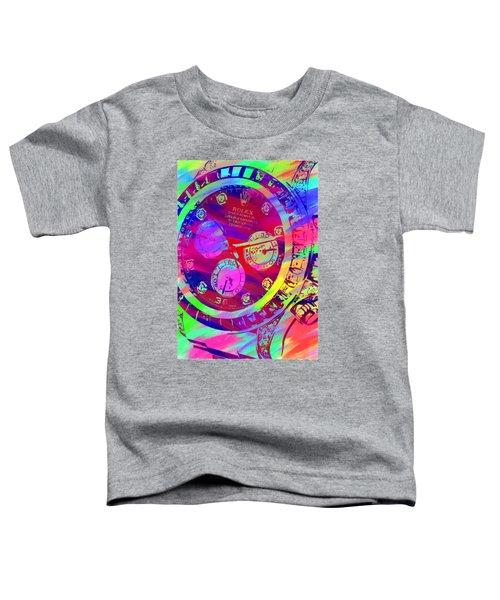 Abstract Rolex Digital Paint 9 Toddler T-Shirt