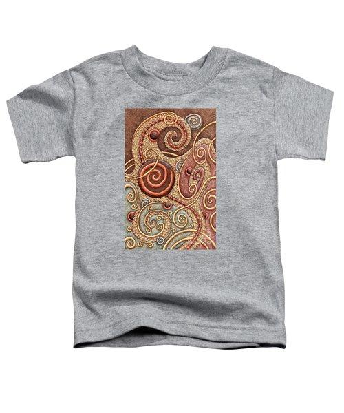 Abstract Spiral 1 Toddler T-Shirt
