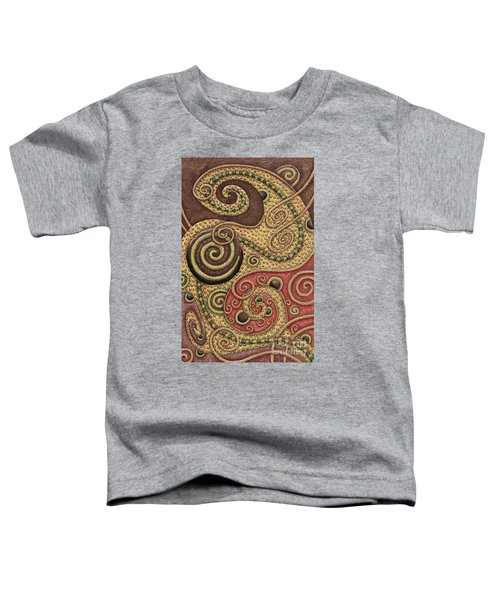 Abstract Spiral 3 Toddler T-Shirt
