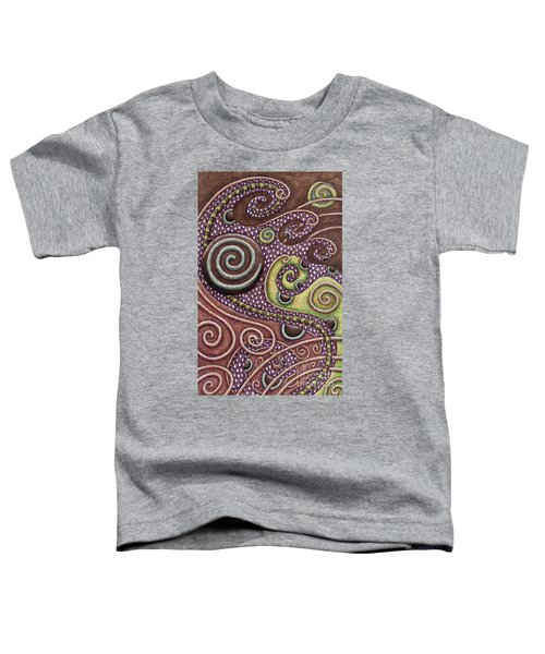 Abstract Spiral 7 Toddler T-Shirt