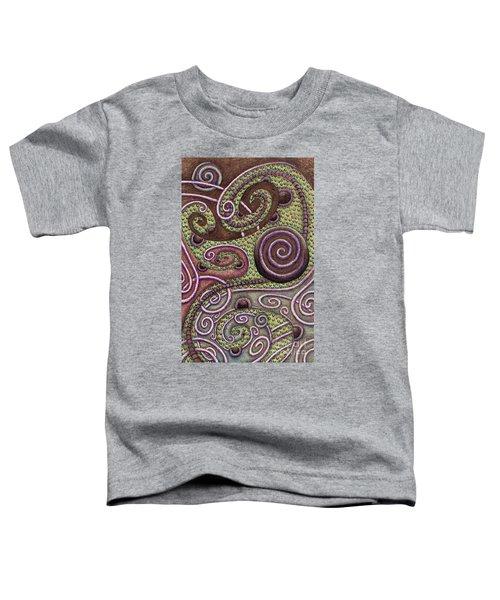 Abstract Spiral 9 Toddler T-Shirt