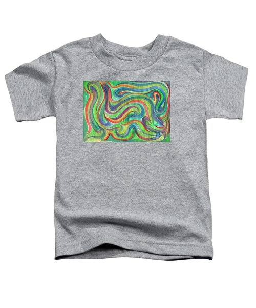 Abstraction In Summer Colors Toddler T-Shirt