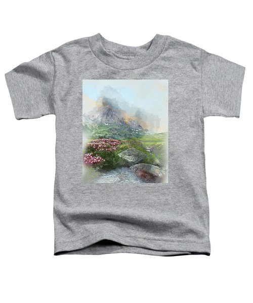 Afternoon Light In The Alps II Toddler T-Shirt