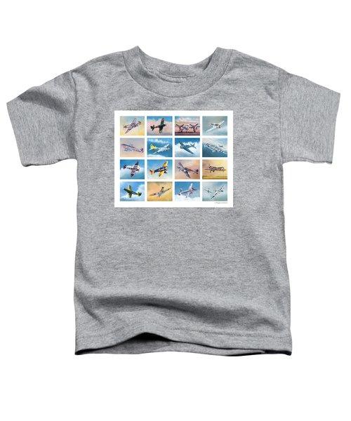 Airplane Poster Toddler T-Shirt