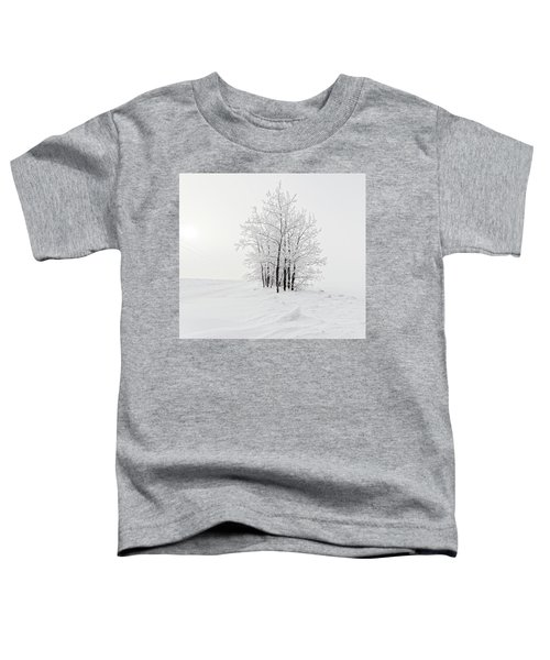 Alone On The Prairie Toddler T-Shirt