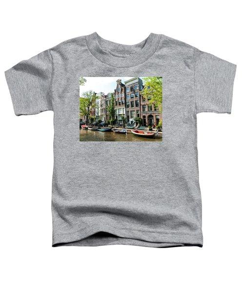 Along An Amsterdam Canal Toddler T-Shirt