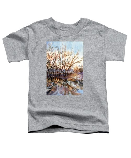 Along Boulder Creek Toddler T-Shirt