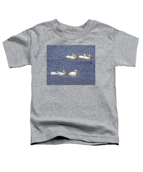 American White Pelican  Toddler T-Shirt