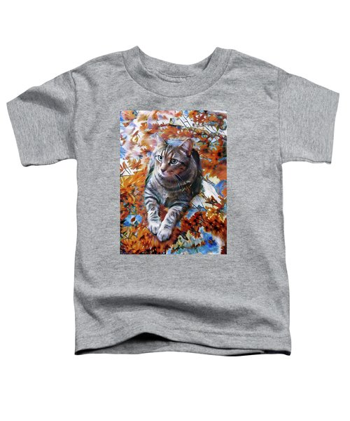 Amos In Flowers Toddler T-Shirt