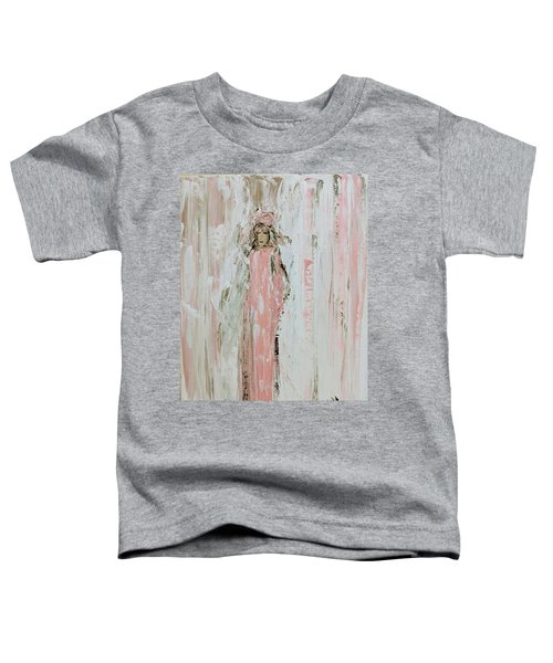 Angels In Pink Toddler T-Shirt